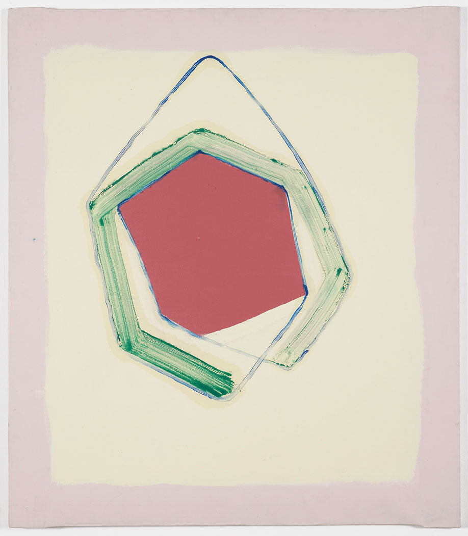 <b>Title:</b>Hanging Painting Red<br /><b>Year:</b>2015<br /><b>Medium:</b>Oil and emulsion on canvas<br /><b>Size:</b>129 x 112 x 2 cm