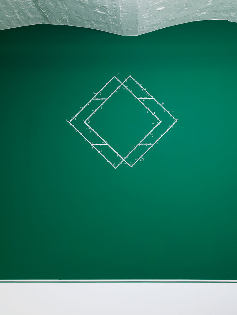 <b>Title:</b>Diamond (edition 1 of 3)<br /><b>Year:</b>2017<br /><b>Medium:</b>Chalk<br /><b>Size:</b>Dimensions Variable