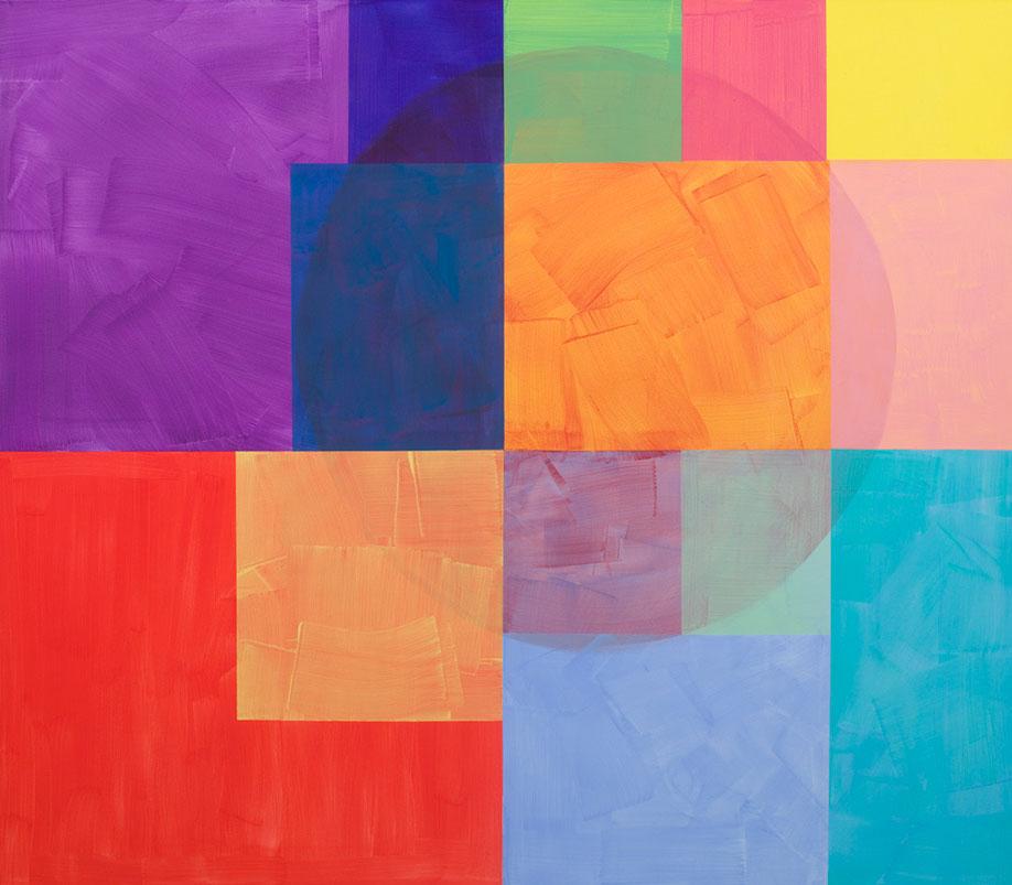 <b>Title:</b>Third Ghost<br /><b>Year:</b>2017<br /><b>Medium:</b>Acrylic on canvas<br /><b>Size:</b>169 x 192 cm