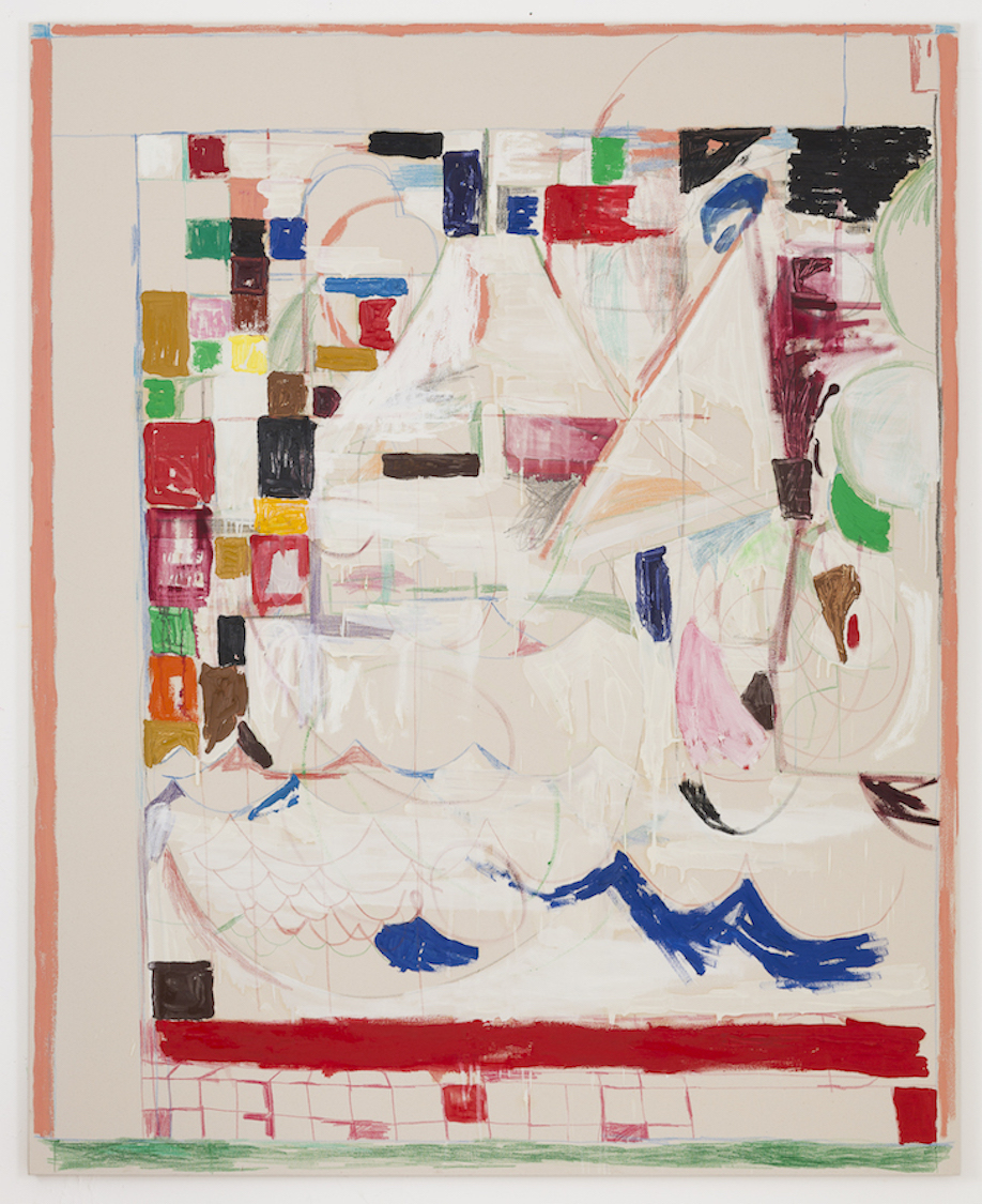 <b>Title:</b>Ship (White)<br /><b>Year:</b>2017<br /><b>Medium:</b>mixed media on canvas<br /><b>Size:</b>210cm x 170cm