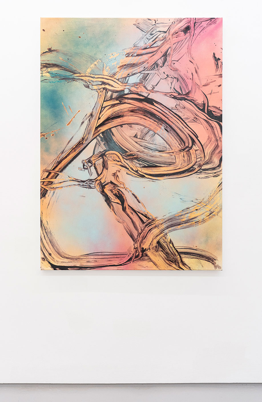 <b>Title:</b>Cloud Rider<br /><b>Year:</b>2018<br /><b>Medium:</b>Acrylic and oil on canvas<br /><b>Size:</b>140 x 100 cm