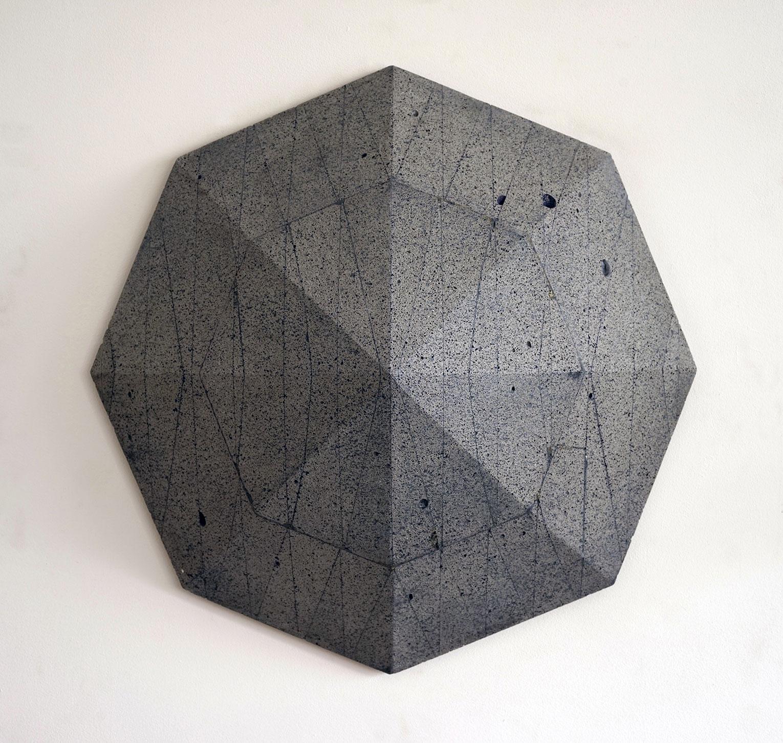 <b>Title:</b>V4<br /><b>Year:</b>2018<br /><b>Medium:</b>Aerated concrete, pigment.<br /><b>Size:</b>48 x 48 x 20cm