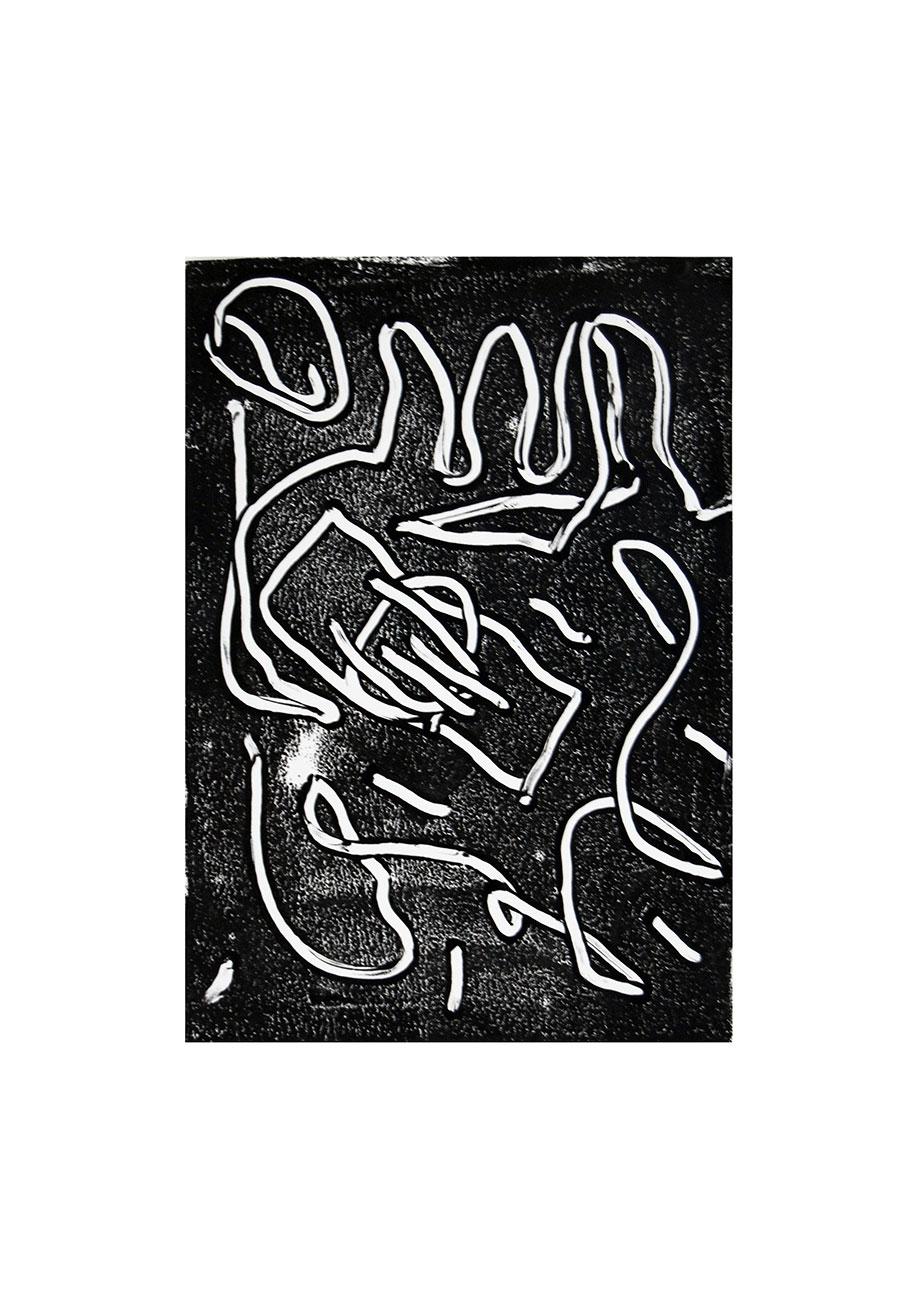 <b>Title:</b>Dollsmoneymoney<br /><b>Year:</b>2018<br /><b>Medium:</b>Acrylic on paper mounted on mdf<br /><b>Size:</b>41 x 58 cm