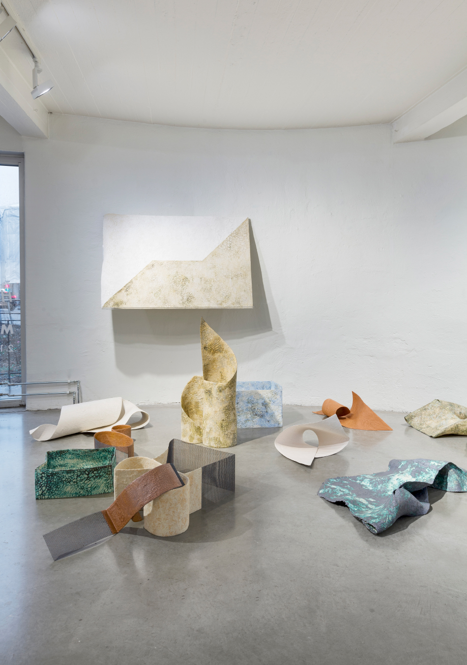<b>Title:</b>Square on a Sphere<br /><b>Year:</b>2018<br /><b>Medium:</b>A series of 26 sculptures in steel - reinforced ceramics.<br /><b>Size:</b>Various sizes